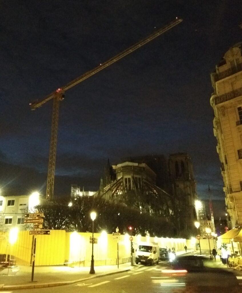 Notre Dame, Paris, 21 February 2020