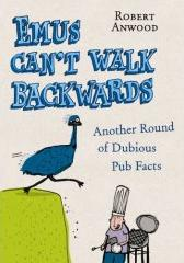 Emus Can't Walk Backwards - book cover